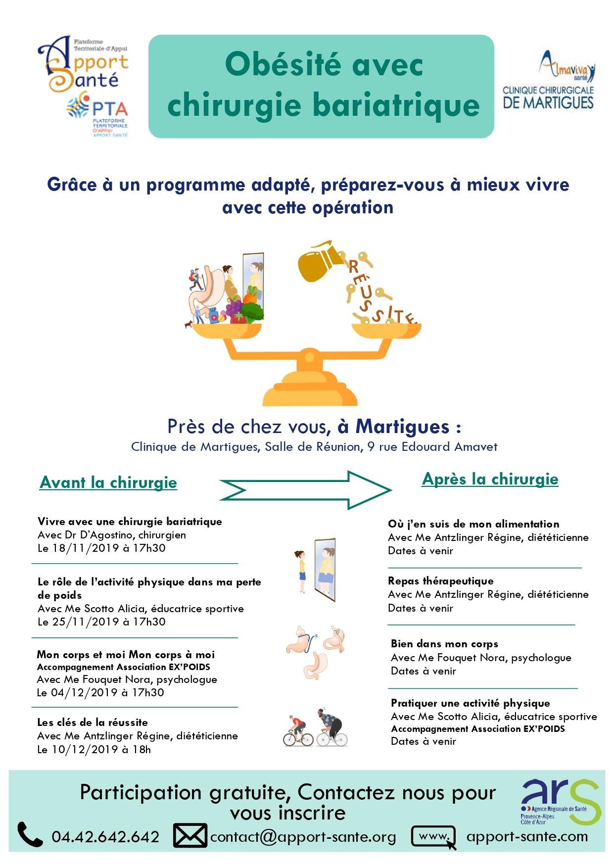 Obésité - Programme Apport Santé