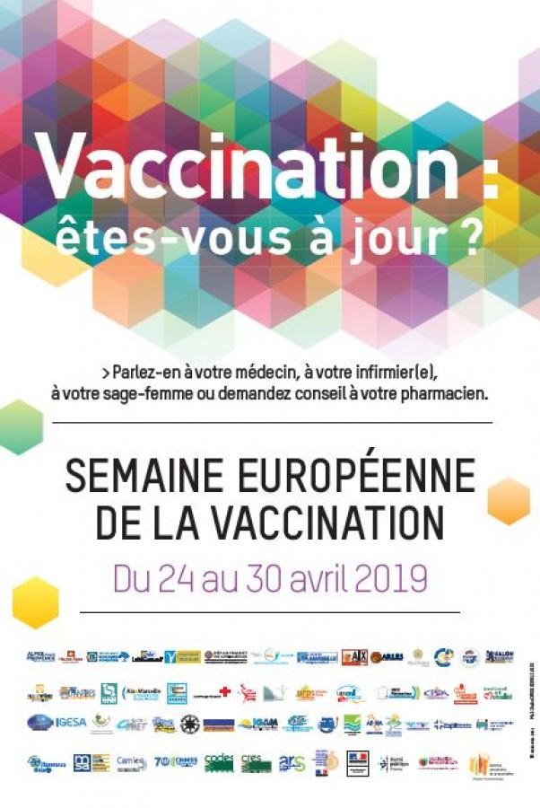 Vaccination Calendrier 2019.Semaine De La Vaccination 2019