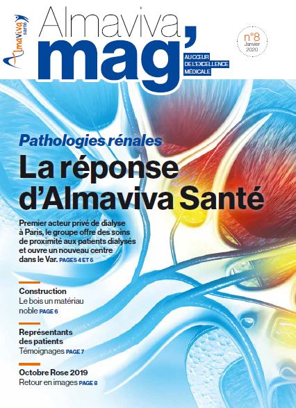 Magazine ALMAVIVA Santé N°8  -Janvier 2020