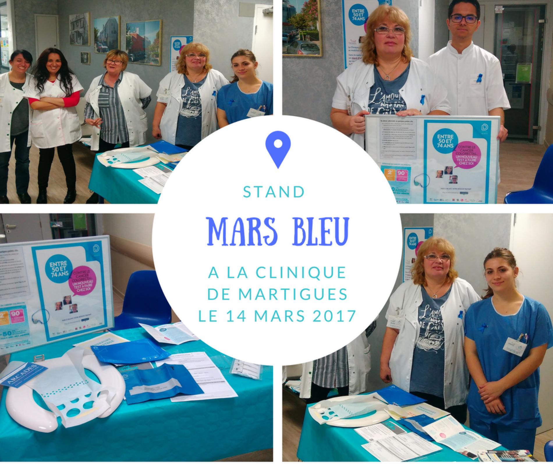 Mars Bleu contre le cancer colorectal