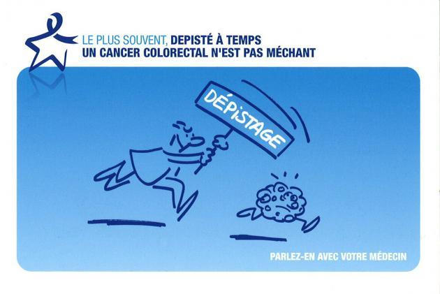 Mars Bleu : Dépistage du cancer colorectal