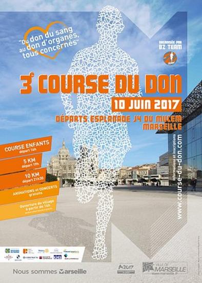 3ème course du don - 10 juin  2017