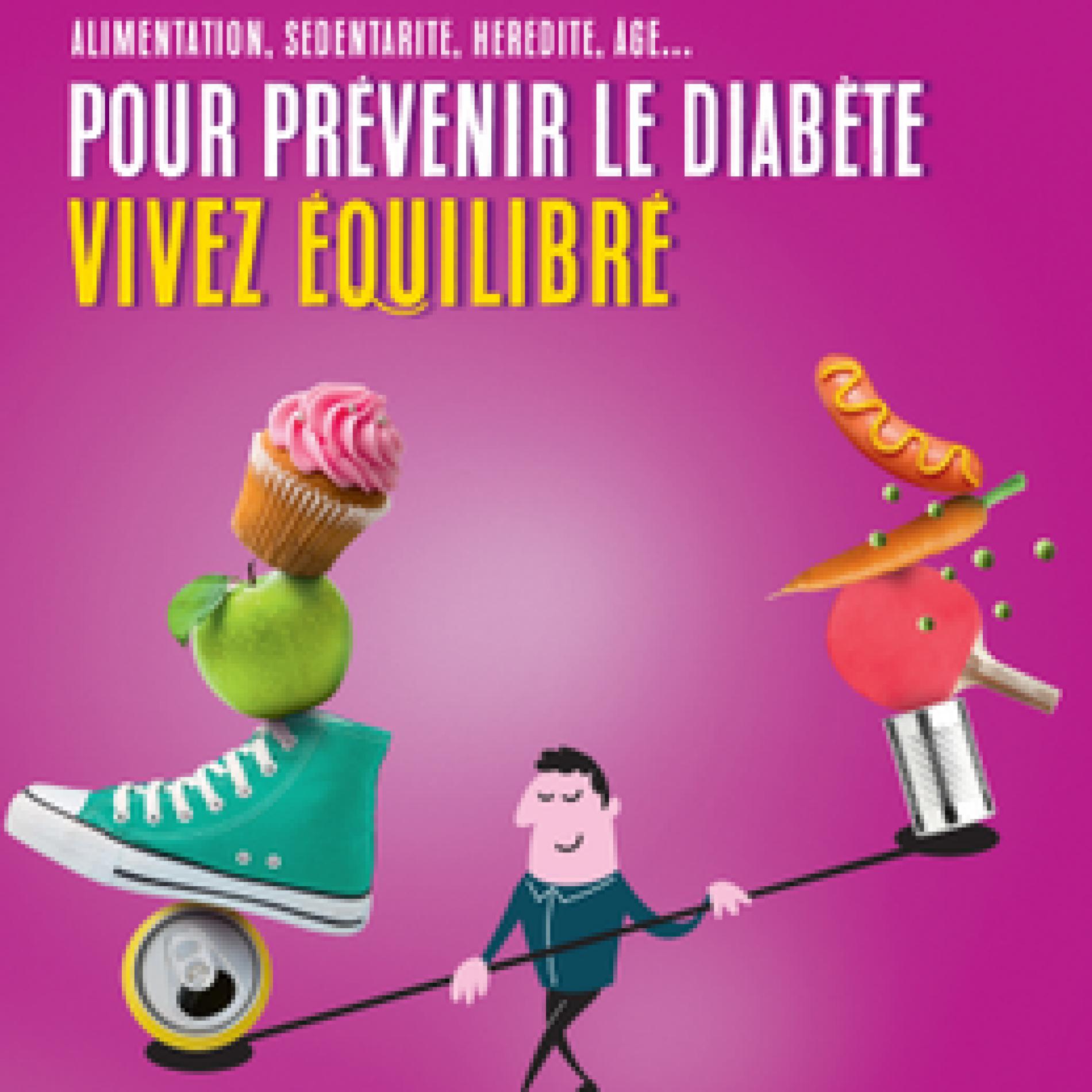 Semaine nationale de prévention du diabète 2019