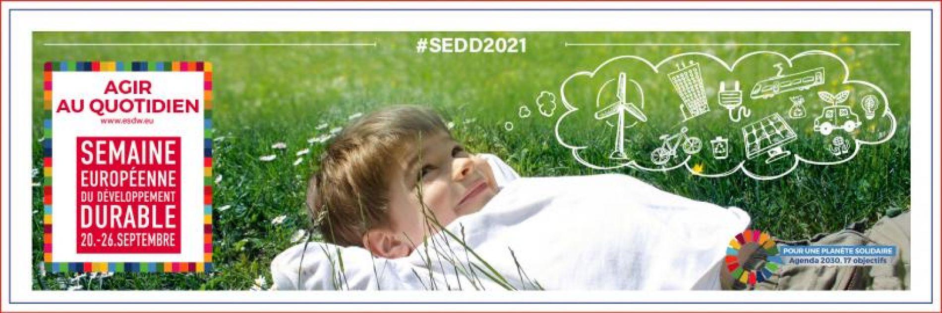 Semaine Européenne du Développement Durable 2021